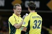 2nd ODI: Australia crush India despite Rohit's back-to-back tons