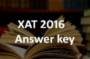 XAT 2016: Official answer key released