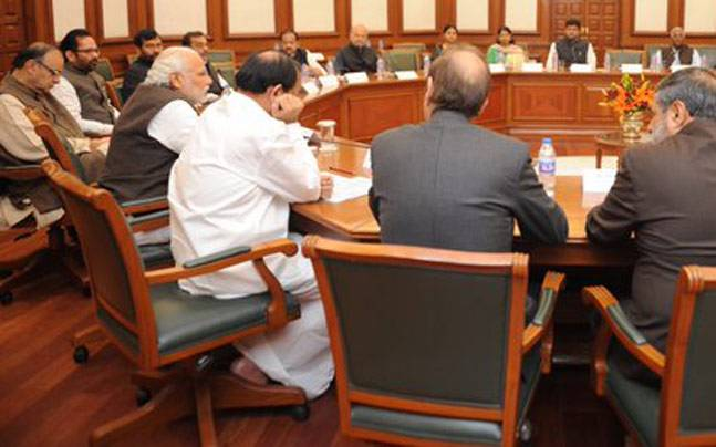 All party meeting chaired by PM Modi