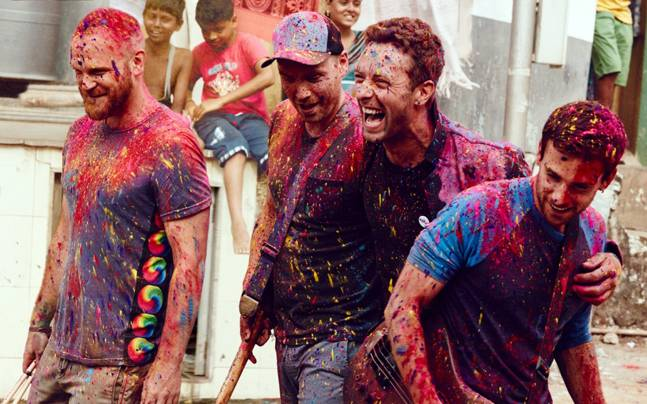 Coldplay left something behind in India, which can now be