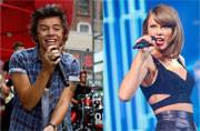Harry Styles' 22nd birthday had a lot of Taylor Swift in it