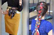 Belt to wall art: Five ways to use a scarf that don't involve your neck