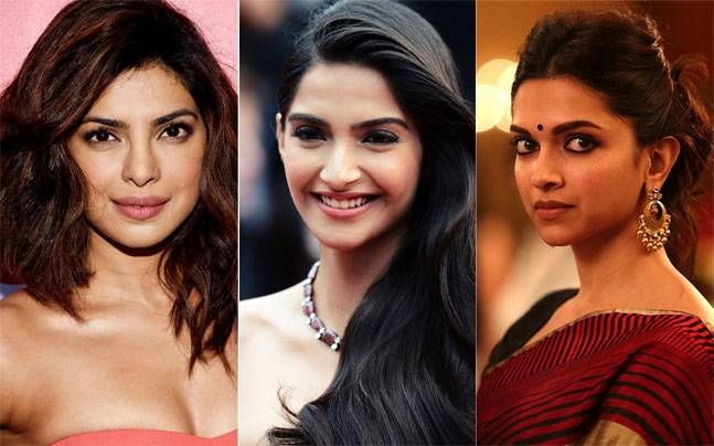 Sonam Kapoor takes a dig at Priyanka Chopra and Deepika Padukone