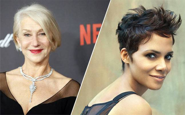 Helen Mirren and Halle Berry