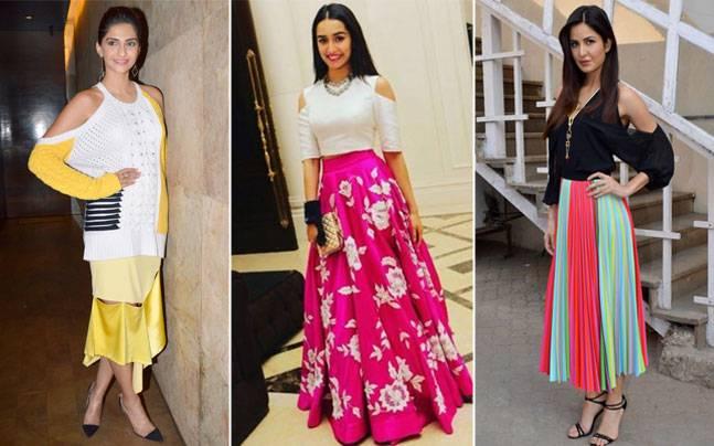 Sonam Kapoor, Katrina Kaif, Shraddha Kapoor; Pictures courtesy: Yogen Shah; Instagram/@shraddhakapoor