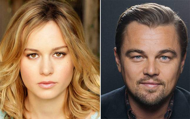 Brie Larson and Leonardo DiCaprio win best actor and actress award
