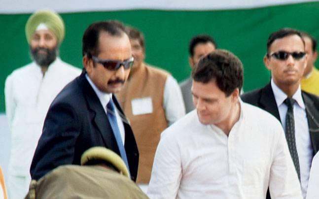Rahul Gandhi in Lucknow