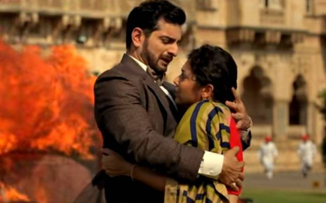 Siddhant Karnick and Drashti Dhami in a still from Ek Tha Raja Ek Thi Rani.