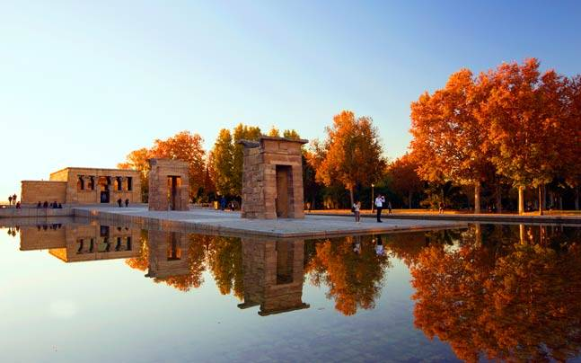 Temple of Debod. Picture courtesy: Sharat Sharma