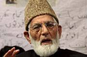 Geelani holds bandh in Kashmir in support of JNU students