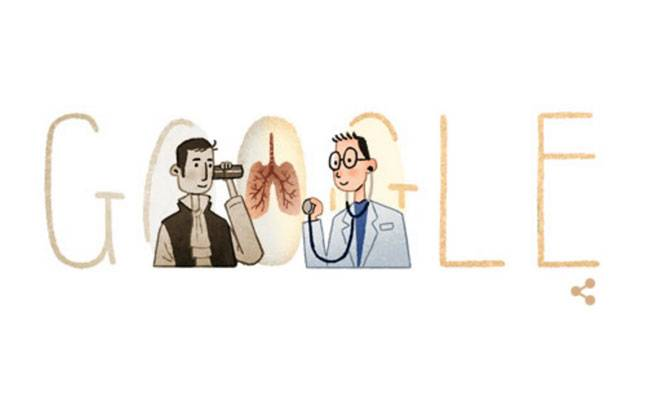 Google honours the inventor of stethoscope, Rene Laennec