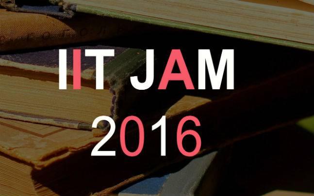 IIT JAM 2016