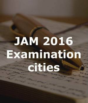 JAM Exam in three days: Check out the examination cities here