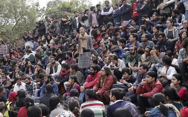 JNU agitation