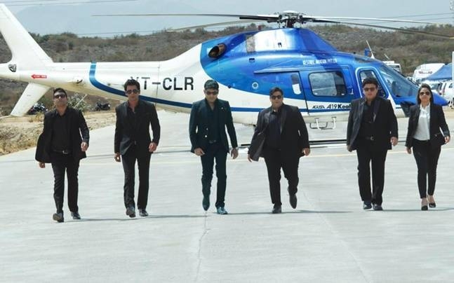 Kapil Sharma and his gang in a still from the promo.