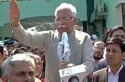 Jat agitation: Khattar visits Rohtak, faces black flags