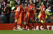 Liverpool through to last 16 with nervy win in Europa League