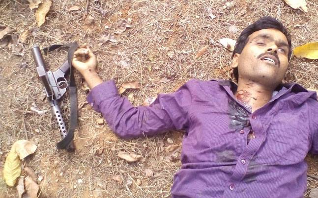 Maoist leader Sanjay Yadav (Graphic photo)