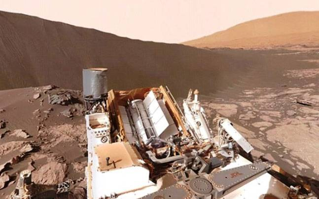 360-degree video of Mars