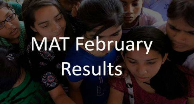 MAT February 2016: Results out
