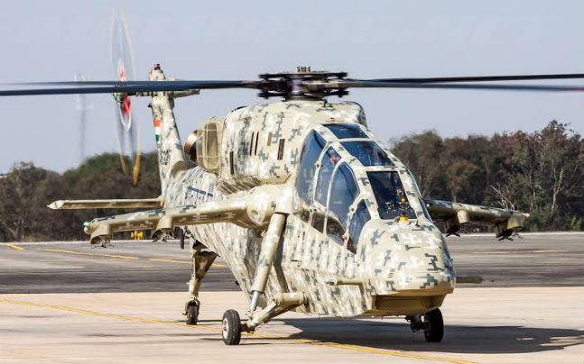 HAL-made Light Combat Helicopter