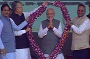 Modi launches Rurban Mission, says his government is for poor and Dalits