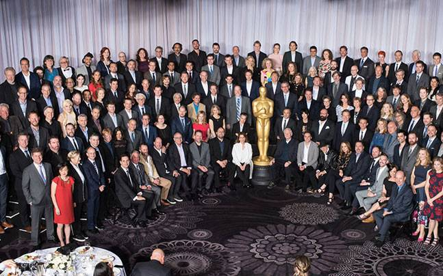 Oscar 2016 nominees at the nominees' luncheon in Beverly Hilton. Photo: Image Group LA/©A.M.P.A.S.