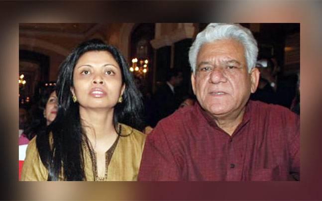 Om Puri and Nandita Puri