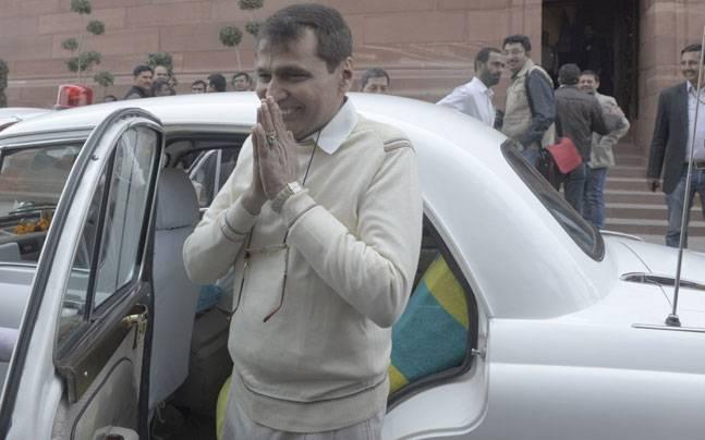 Minister for Railways Suresh Prabhu