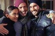 Photo of the day: Lovebirds Ranveer and Deepika pose with DJ Caruso on the sets of XXX The Return Of Xander Cage