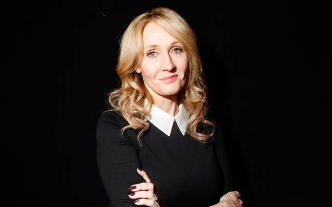 Author JK Rowling. Picture courtesy: Reuters