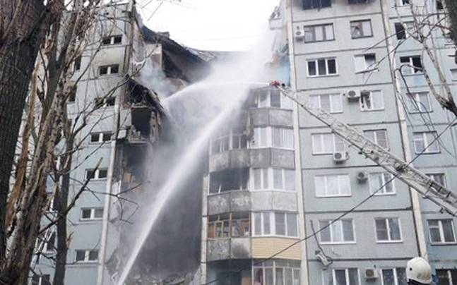 6 killed in a gas explosion in Russia. (AP picture)