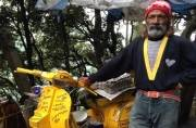 Menu on wheels: Heartwarming story of a man who runs a foodstall on his bright yellow scooter