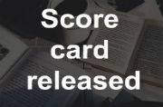 IBPS CWE PO/MT V: Score card released