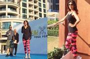 Look how Shilpa Shetty is making Dubai turn into a sea of yogis