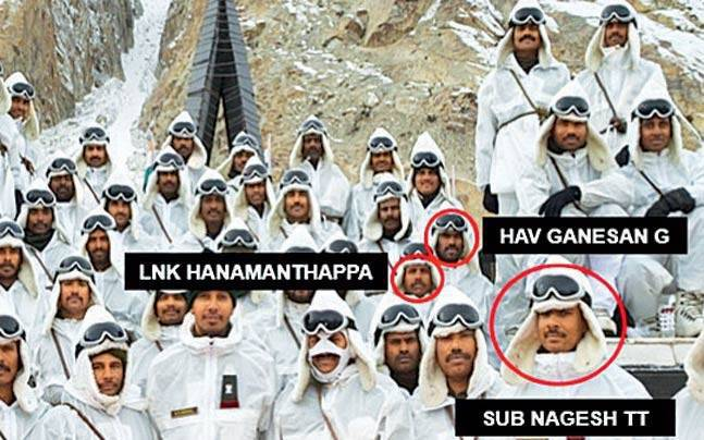 Bodies of nine Siachen bravehearts are likely to be brought to Delhi tomorrow