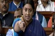 Full text: Smriti Irani's explosive speech in Lok Sabha on Rohith Vemula and JNU row