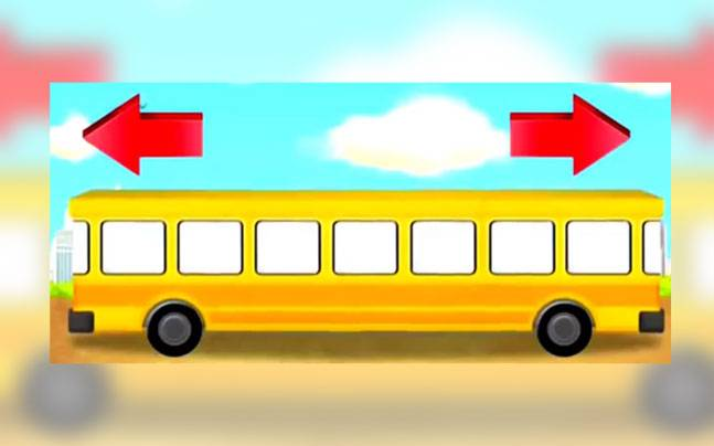 which way is the bus going this brain teaser is making the internet