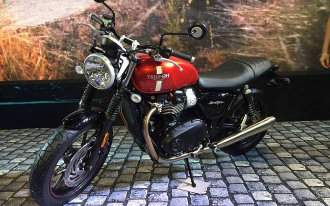 The Triumph Street Twin