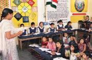 KV Varanasi teachers being trained in spoken English