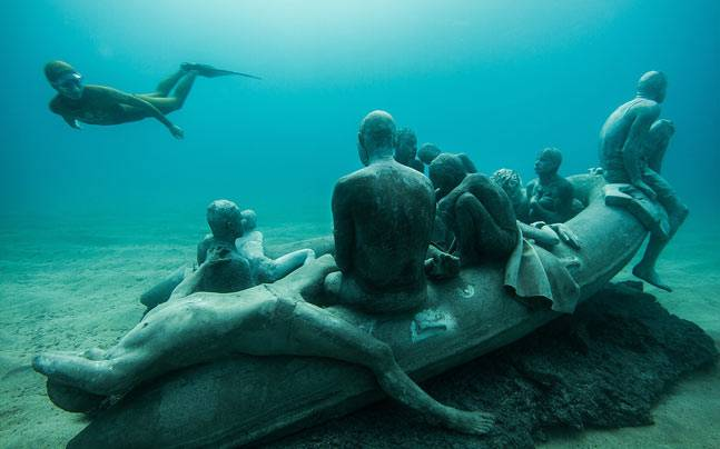 Europe's first undersea museum, Museo Atlantico