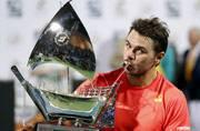 Wawrinka beats Baghdatis to win Dubai title