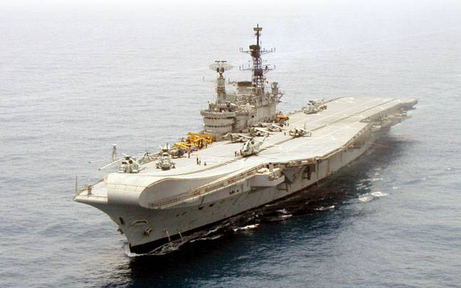 INS Viraat. Picture courtesy: Wikimedia/Indian Navy/Creative Commons