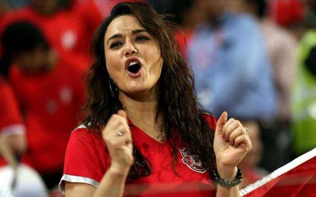 Preity Zinta is backing CSK to win the title. (AFP)