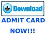 PU MET 2016: Download the admit card