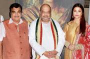 Amit Shah hosts launch of first poster of Aishwarya Rai-Bachchan starrer Sarbjit