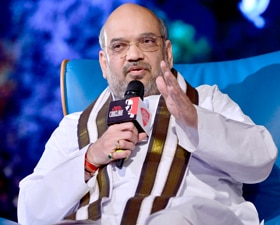 Amit Shah. Photo by Ramesh Sharma