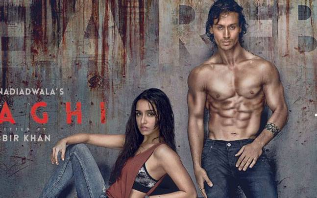Shraddha Kapoor and Tiger Shroff in the first poster of Baaghi