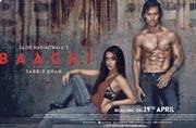 Baaghi poster out: Tiger Shroff and Shraddha Kapoor