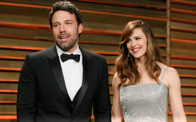 Ben Affleck and Jennifer Garner. Photo: Reuters